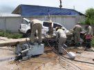 ตกใจหมาตัดหน้า! หักหลบชนเสาไฟหักโค่นนับสิบต้น การไฟฟ้าเรียกค่าเสียหาย 3 ล้าน