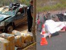 สลด! กระบะขนกัญชา หนีย้อนศรกว่า 10 กม. ชนรถชาวบ้าน ดับ 3 ศพ